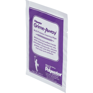 American Polywater HTC-1 Heavy-Duty Cleaning Wipes for Hand and Tool Cleaning