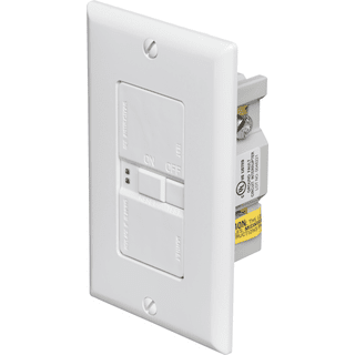 Eaton Cooper Wiring SGFD20W Specification Grade Blank Face GFCI Receptacle