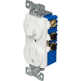 Receptacle/Switch Combo