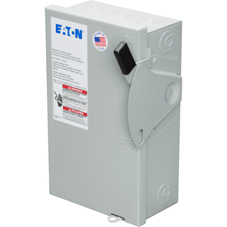 Eaton DG221NGB General Duty Class H Cartridge Fuse Safety Switch