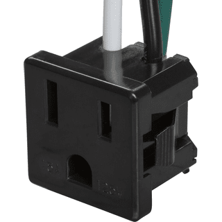 Ground Snap-In Receptacle