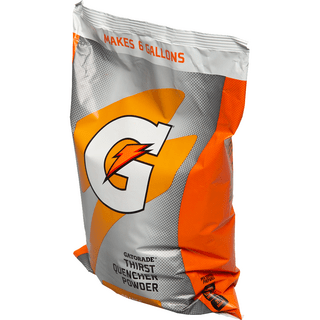 Gatorade FC03968 6-Gallon Gatorade Pouches - Orange
