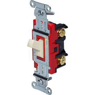 HUBBELL CONTROL SOLUTIONS 1221I Single-Pole Heavy Duty Industrial Toggle Switch