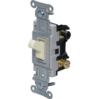 HUBBELL CONTROL SOLUTIONS CS320I Specification Grade Commercial Switch, Ivory