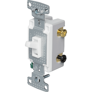 HUBBELL CONTROL SOLUTIONS RS415W 4-Way Toggle Switch