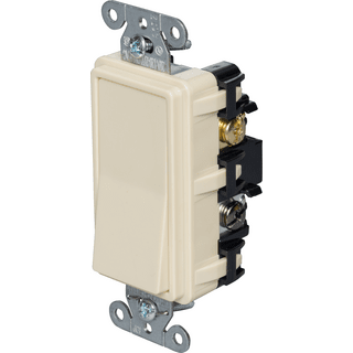 HUBBELL CONTROL SOLUTIONS RSD415I Four-Way Decorator Quiet Rocker Switch