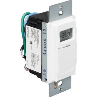 Electronic and Mechanical In-Wall Timers
