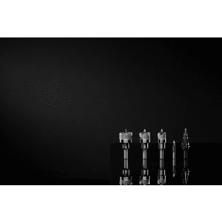 Klein Tools M2041564KIT Hole Saw Kit, Carbide Hole Cutter, 4-Piece and Step Drill Bit #14 Double-Fluted, 3/16 to 7/8-Inch