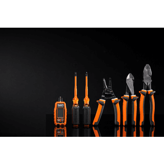 Klein Tools M2041566KIT 1000V Insulated Tool Kit, 5-Piece and GFCI Receptacle Tester with LCD