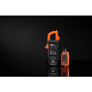 Klein Tools M2041627KIT Digital Clamp Meter AC/DC Auto-Ranging and GFCI Receptacle Tester with LCD