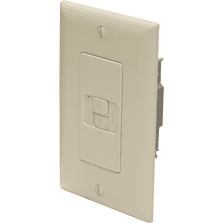 Legrand-Pass & Seymour 2087-I Spec-Grade Dead Front 20A Self-Test GFCI Receptacle, Ivory