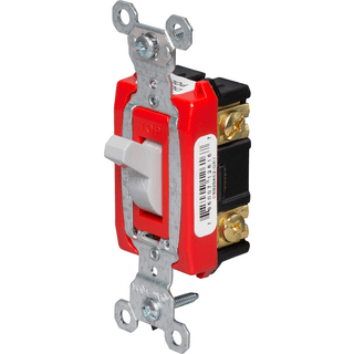 Legrand-Pass & Seymour CSB20AC2-GRY Hard Use Specification Grade Switch
