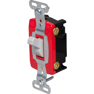 Legrand-Pass & Seymour CSB20AC4-GRY Hard Use Specification Grade Switch