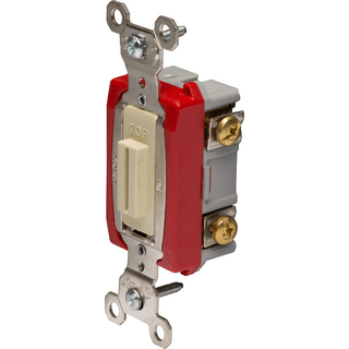 Legrand-Pass & Seymour PS20AC1-IL Industrial Extra Heavy-Duty Specification Grade Lock Switch Back & Side Wire
