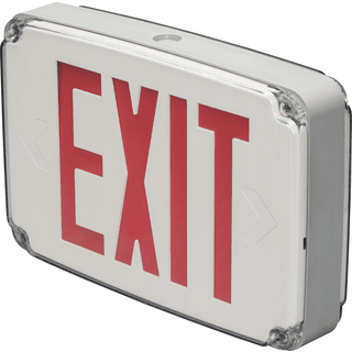 Exit Sign Wet Locations