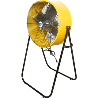 Ventamatic BF24TF2N1 YEL Maxx Air 24 In. 2-Speed Tilting Direct Drive Drum Fan with Extension Legs