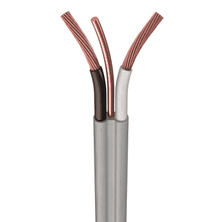 UF-NMCB-6/2-WG #6 AWG, UF-B Cable, Copper, Black/White, 2 W/ Bare Ground, Cut Length