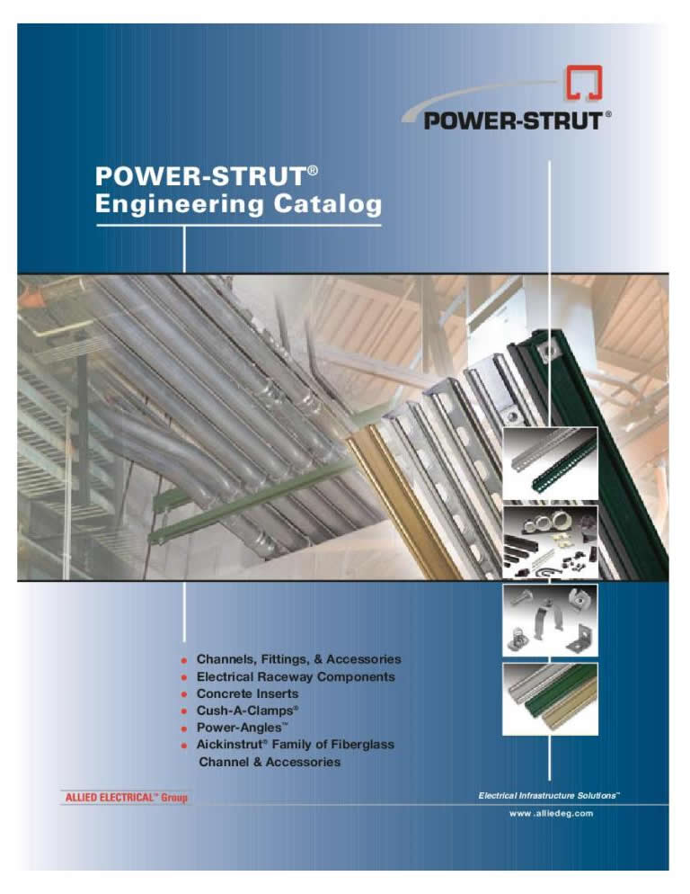 Power Strut Catalog