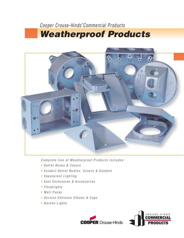 Weatherproof Products